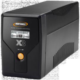 ONDULEUR LINE INTERACTIVE 500VA-2P FR/SCHUKO + RJ11/45 - LCD