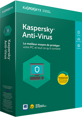 Kaspersky Anti-Virus 1-PC 1 an OEM